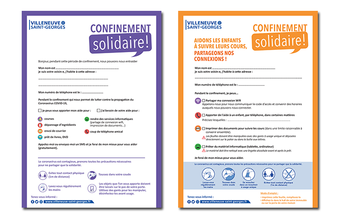 Confinement solidaire