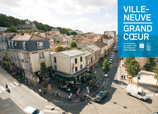 Villeneuve saint georges requalification du centre ville Piscine villeneuve saint georges