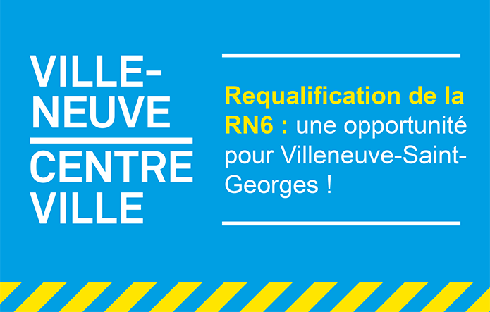 Requalification de la RN6 en centre-ville